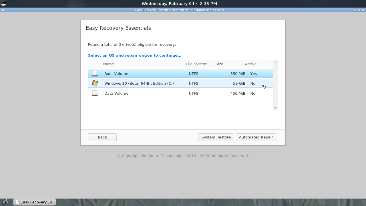 easy recovery essentials for windows xp free download